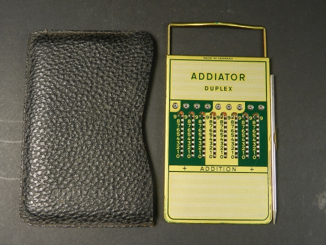ADDIATOR DUPLEX AÑO 1950