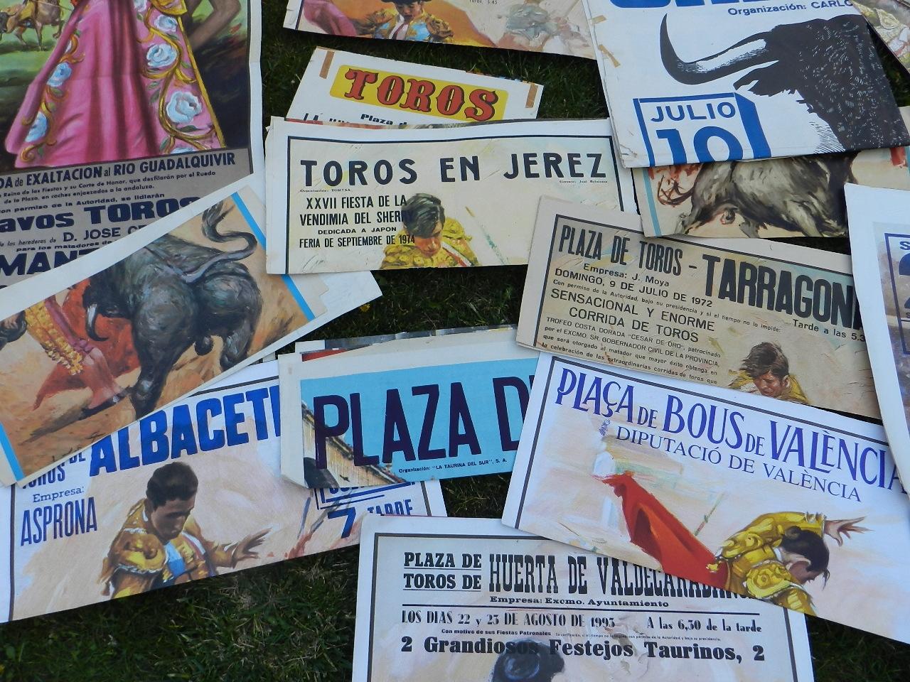 Imagen LOTE CARTELES DE TOROS 36655