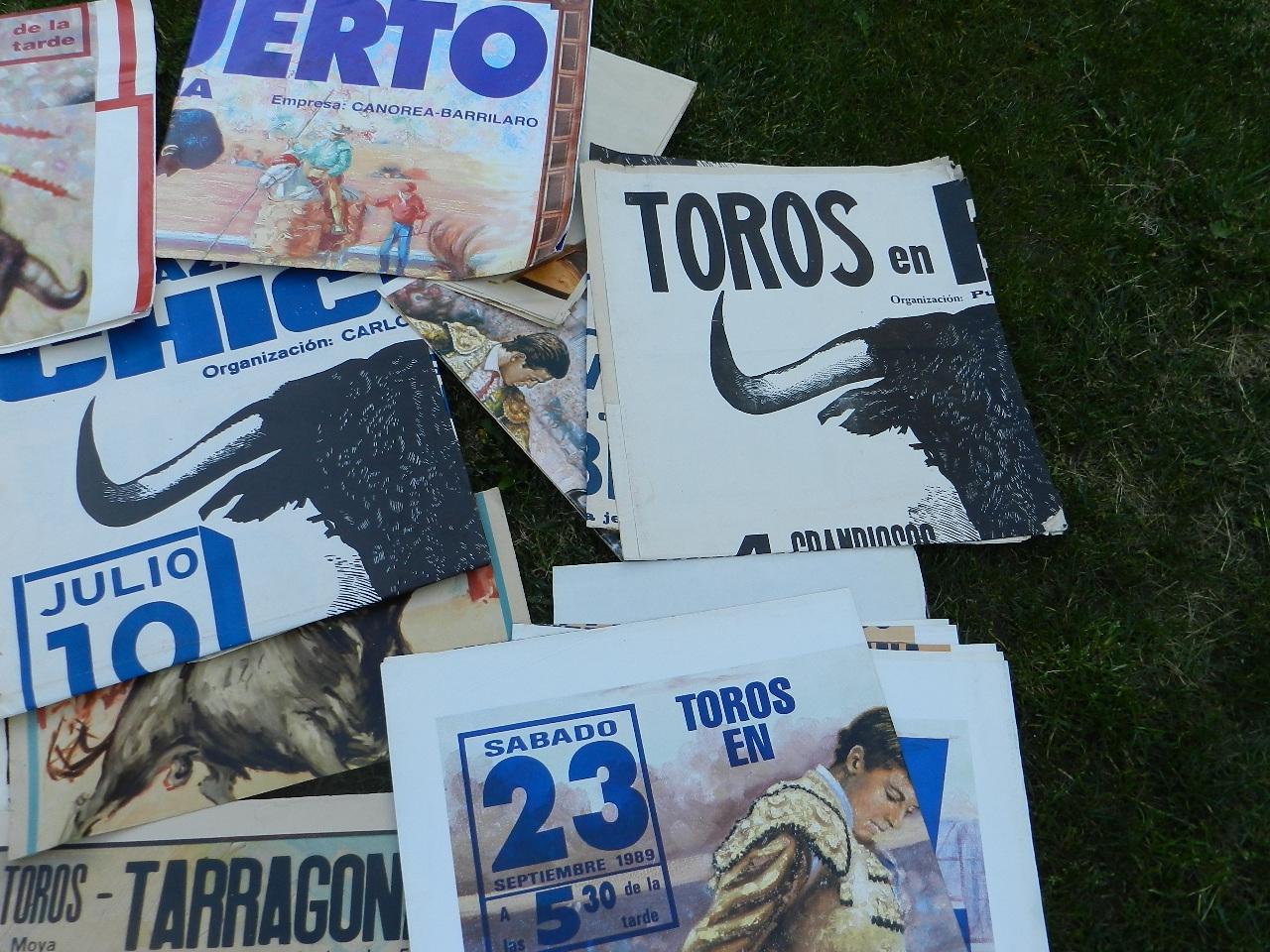 Imagen LOTE CARTELES DE TOROS 36656