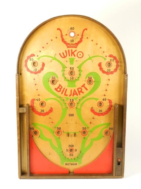 JUEGO WIKO BILJART DE BOLAS 1940