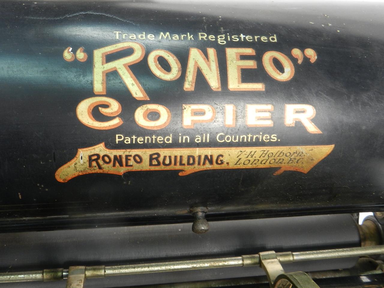 Imagen MULTICOPISTA RONEO AÑO 1920 36837