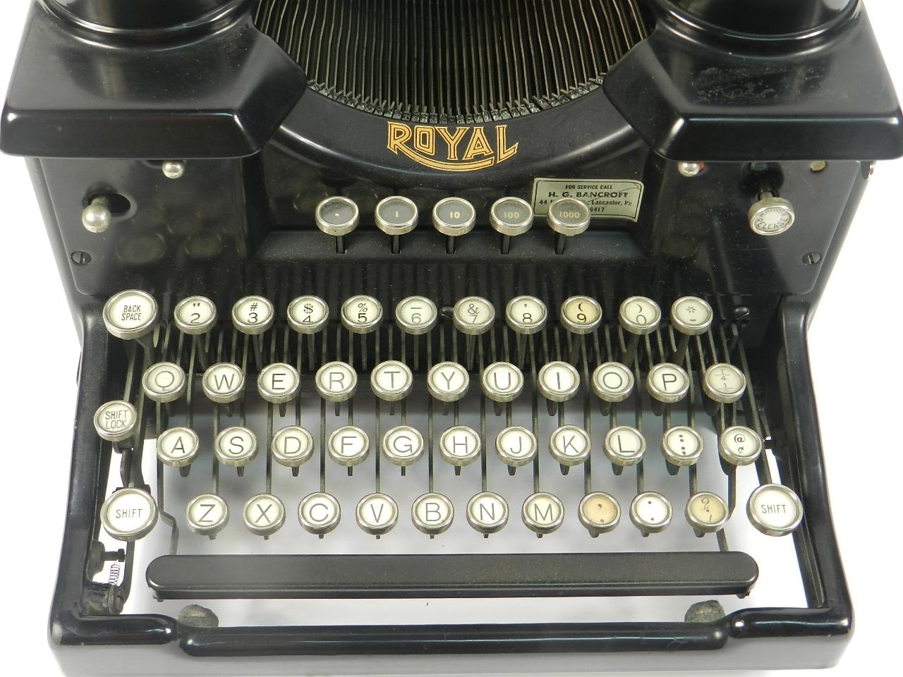 Imagen ROYAL SX  AÑO 1930 37331