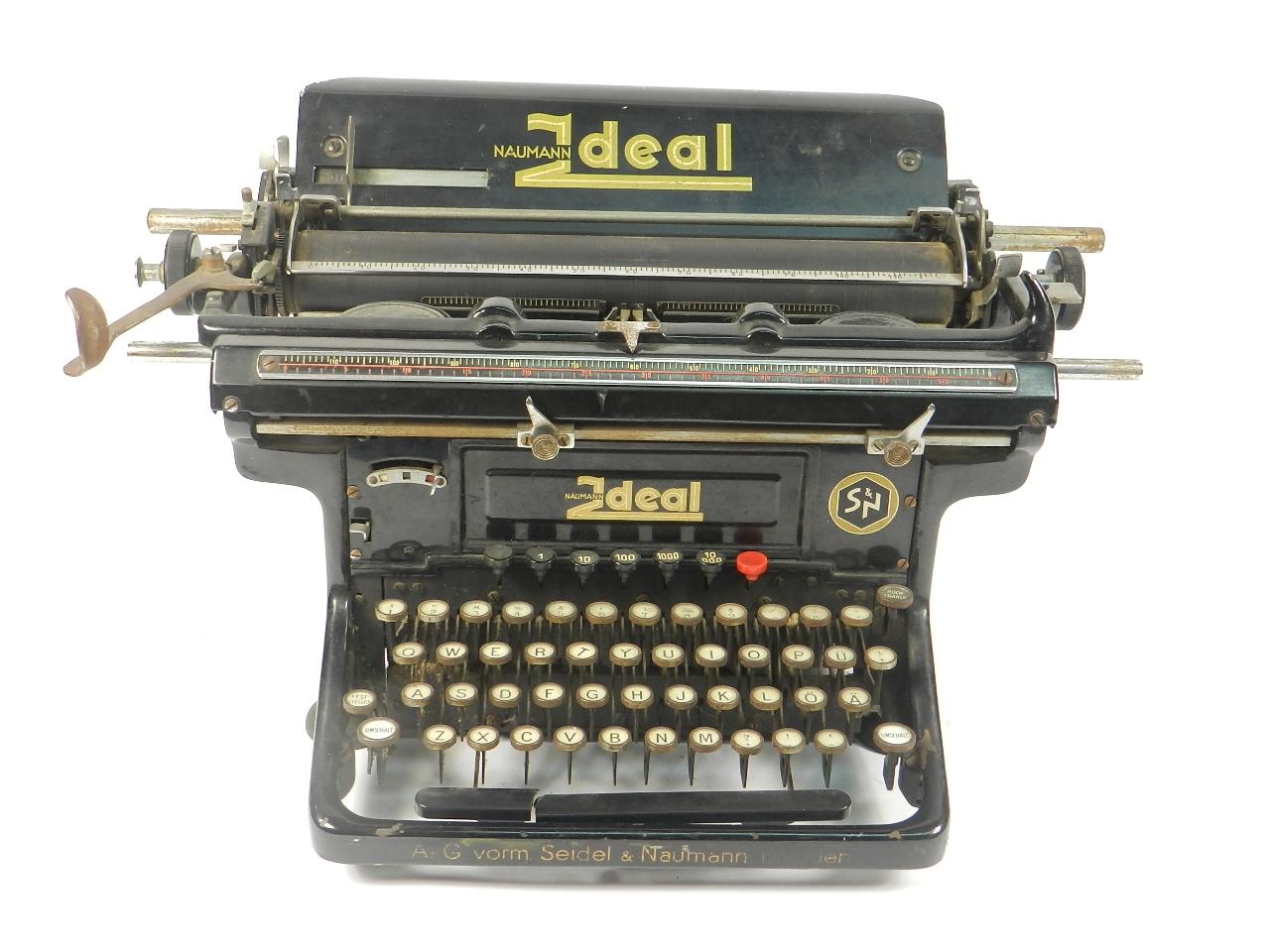 Imagen NAUMANN IDEAL MODELO D  AÑO 1933 37351