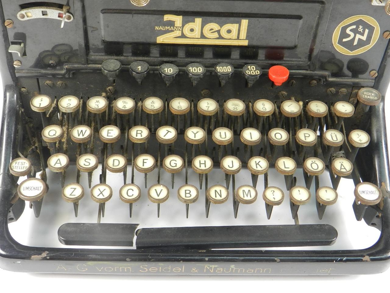 Imagen NAUMANN IDEAL MODELO D  AÑO 1933 37352