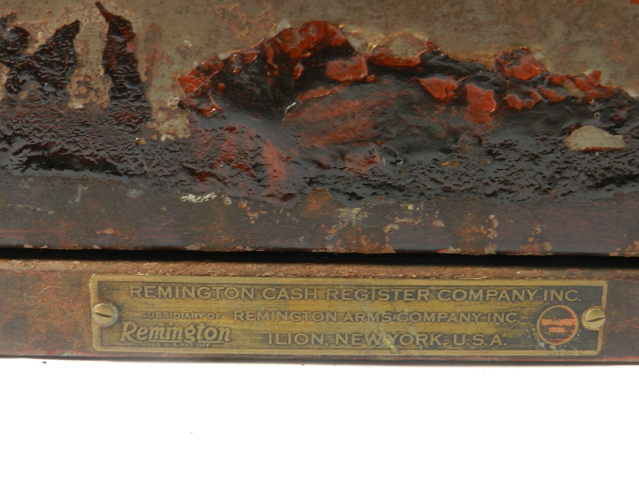 Imagen CAJA REGISTRADORA REMINGTON A-132 1925 37625