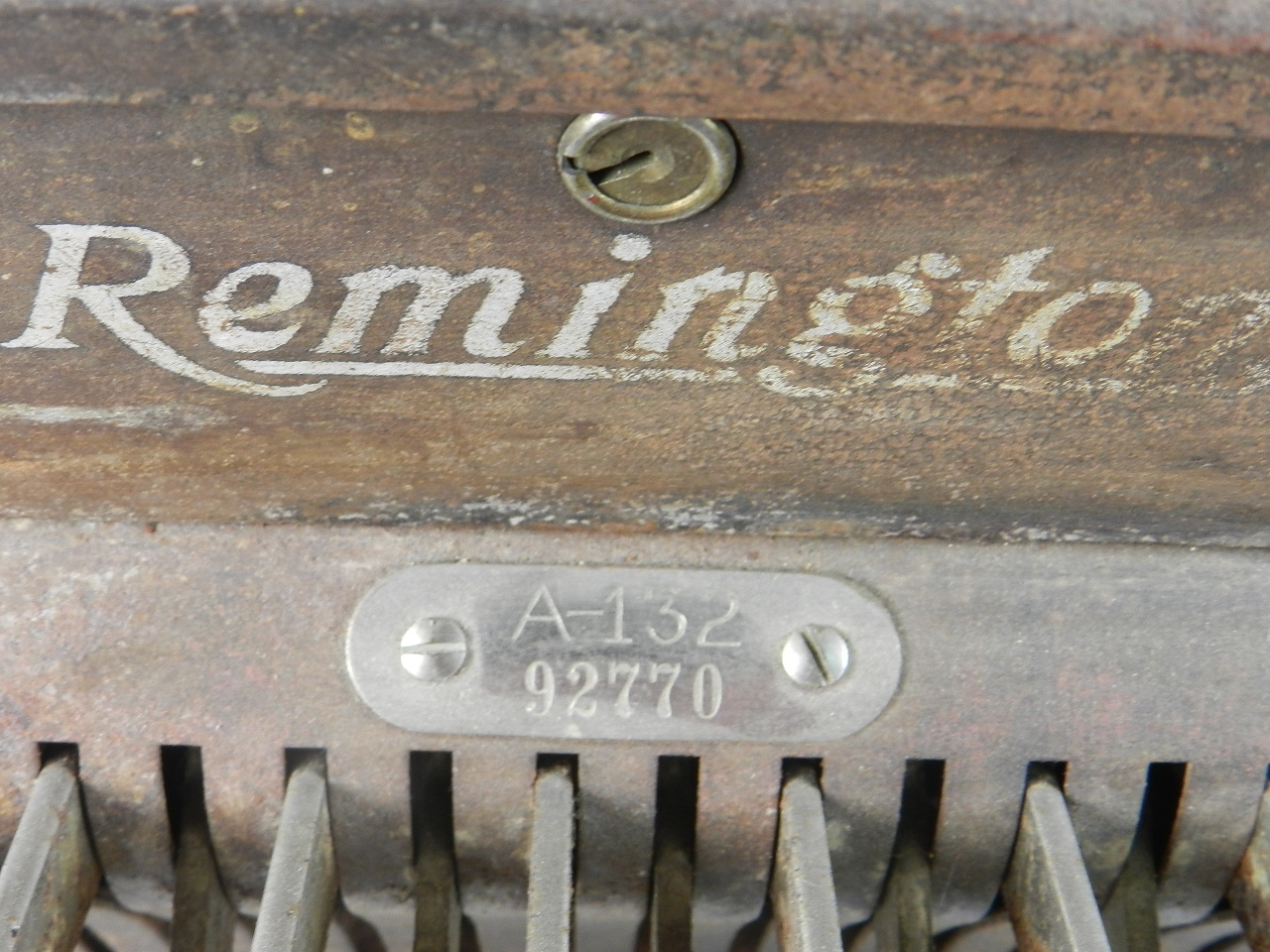 Imagen CAJA REGISTRADORA REMINGTON A-132 1925 37626