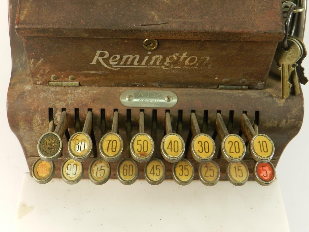 Imagen CAJA REGISTRADORA REMINGTON A-132 1925 37627