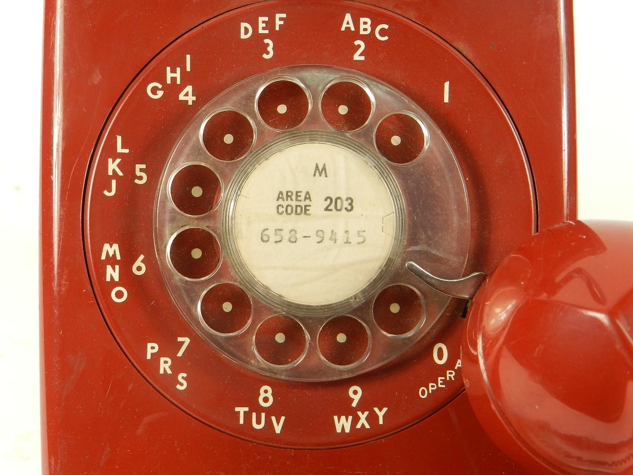 Imagen TELEFONO WESTERN ELECTRIC AÑO 1960 37652