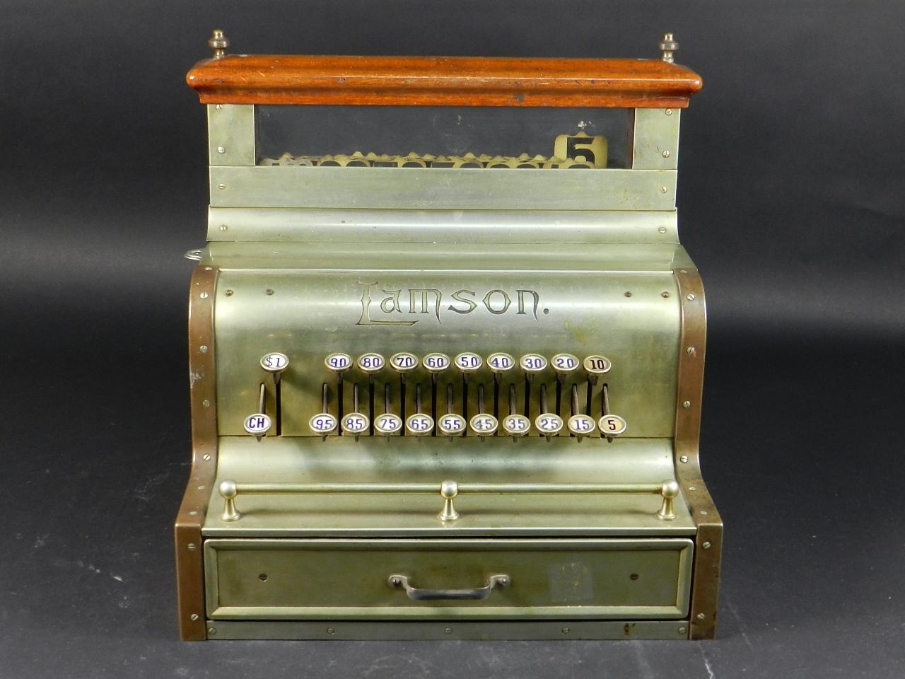 Imagen REGISTRADORA LAMSON Mod.10  AÑO 1895 37839