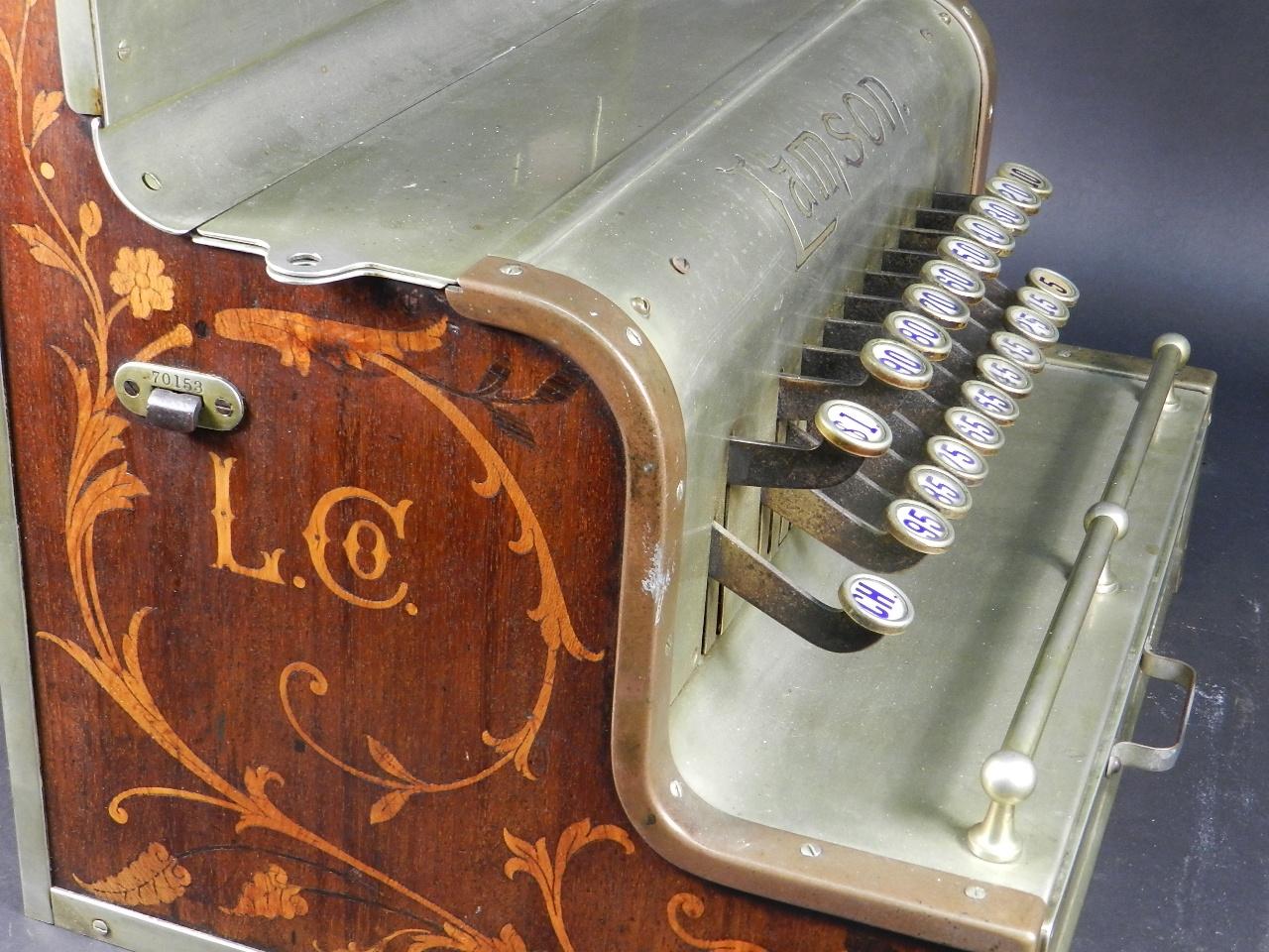 Imagen REGISTRADORA LAMSON Mod.10  AÑO 1895 37849
