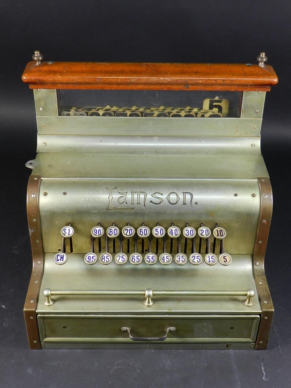 Imagen REGISTRADORA LAMSON Mod.10  AÑO 1895 37840