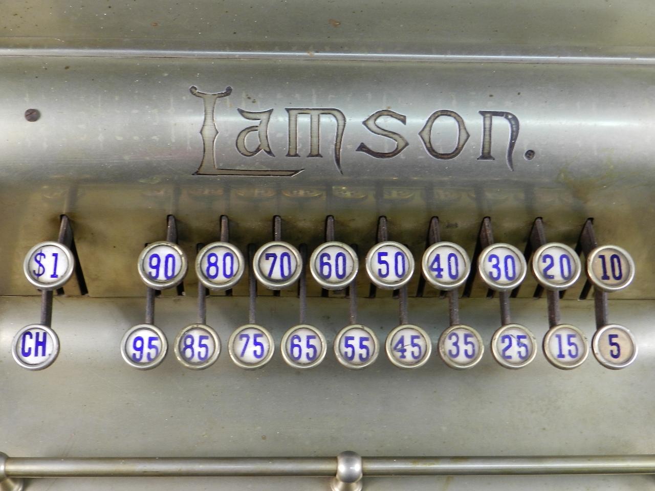 Imagen REGISTRADORA LAMSON Mod.10  AÑO 1895 37842