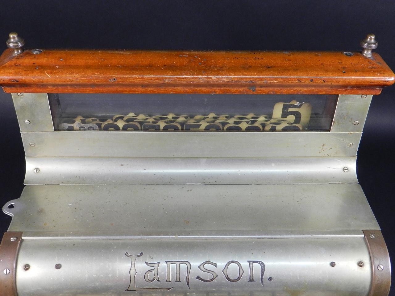 Imagen REGISTRADORA LAMSON Mod.10  AÑO 1895 37843