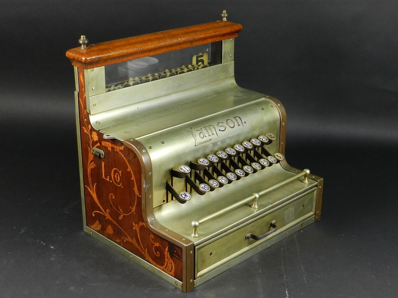 Imagen REGISTRADORA LAMSON Mod.10  AÑO 1895 37845