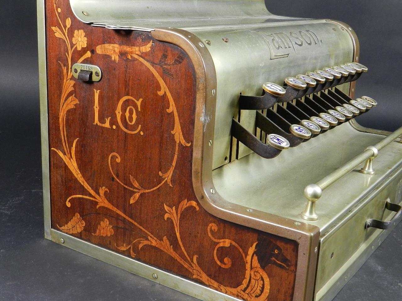 Imagen REGISTRADORA LAMSON Mod.10  AÑO 1895 37847