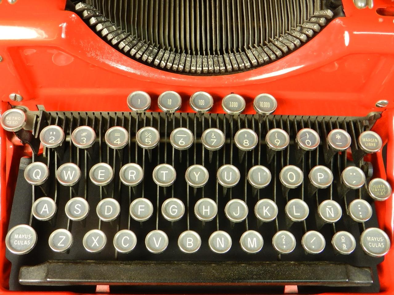 Imagen UNDERWOOD Nº6 ROJA AÑO 1931 38474