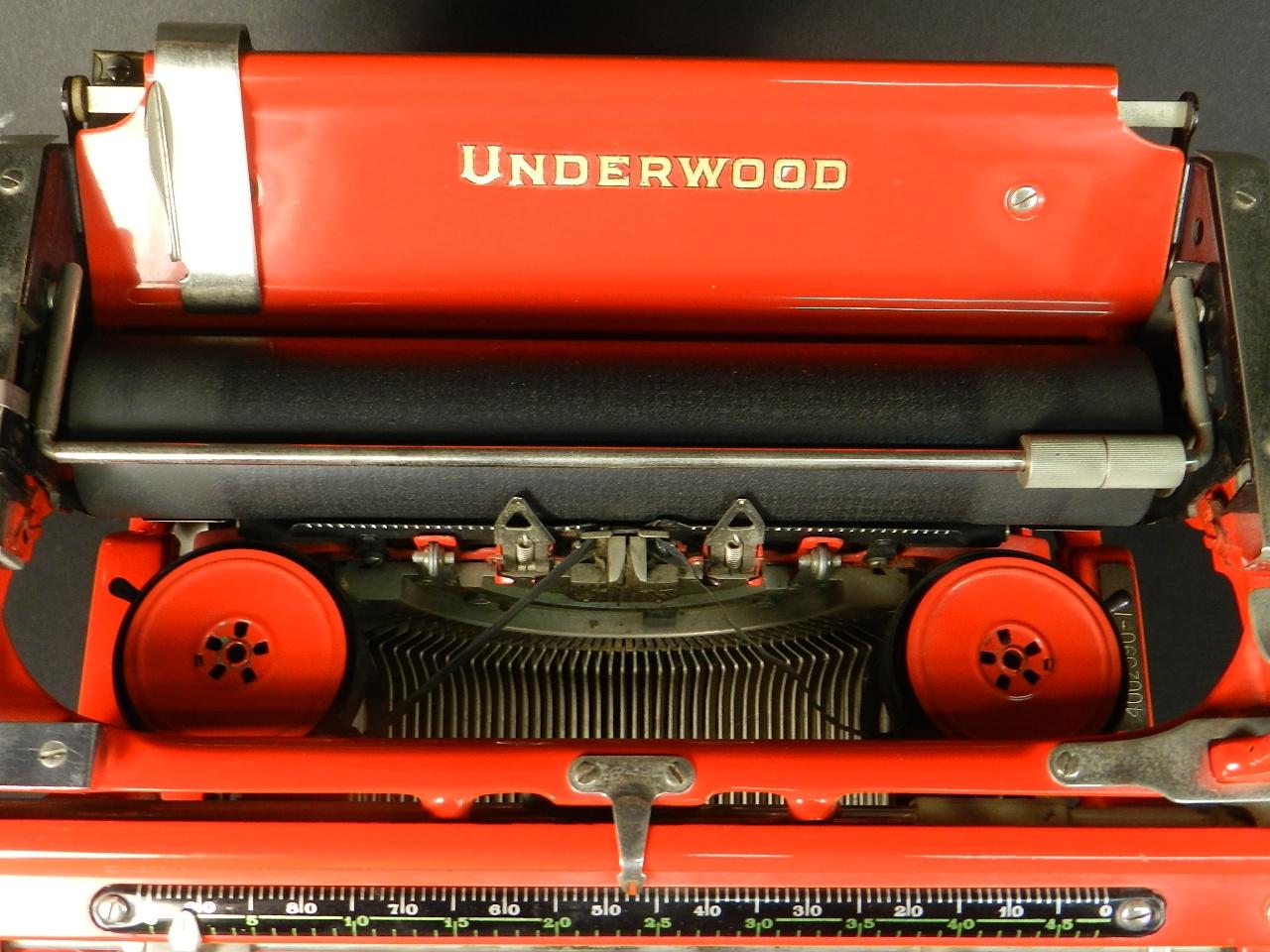 Imagen UNDERWOOD Nº6 ROJA AÑO 1931 38476
