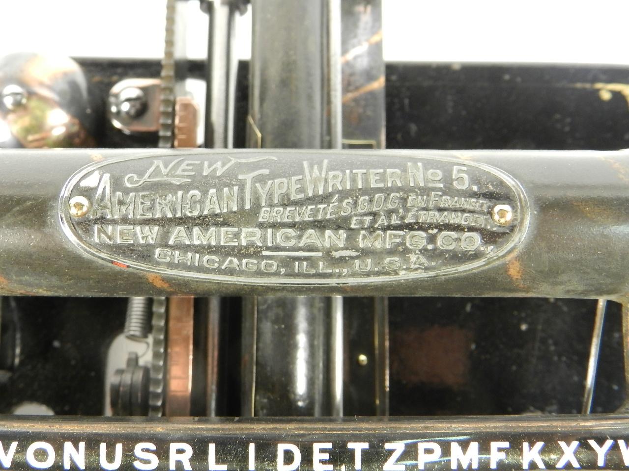 Imagen NEW AMERICAN Nº5 AÑO 1906 38512