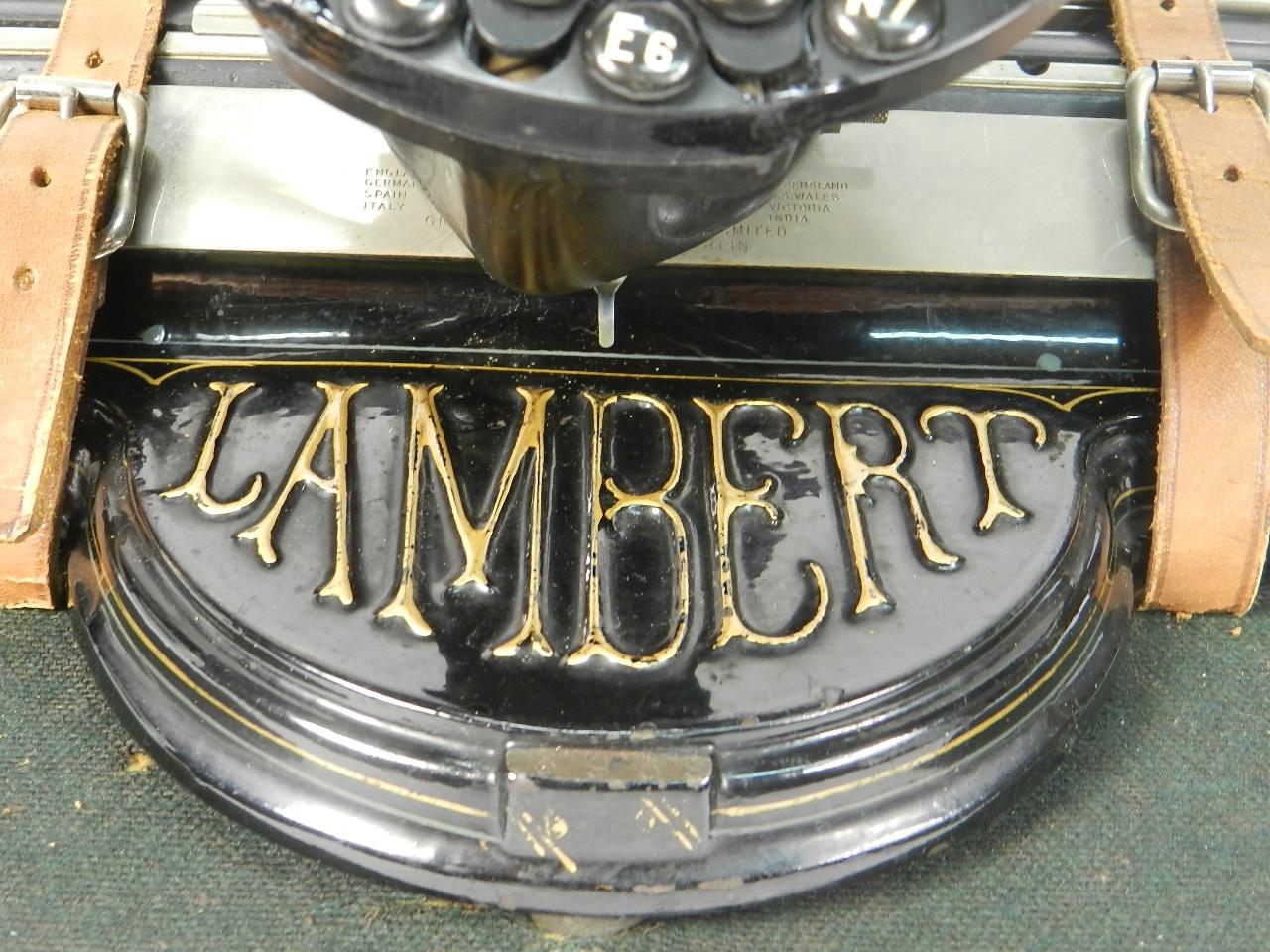 Imagen LAMBERT  AÑO 1902 38524
