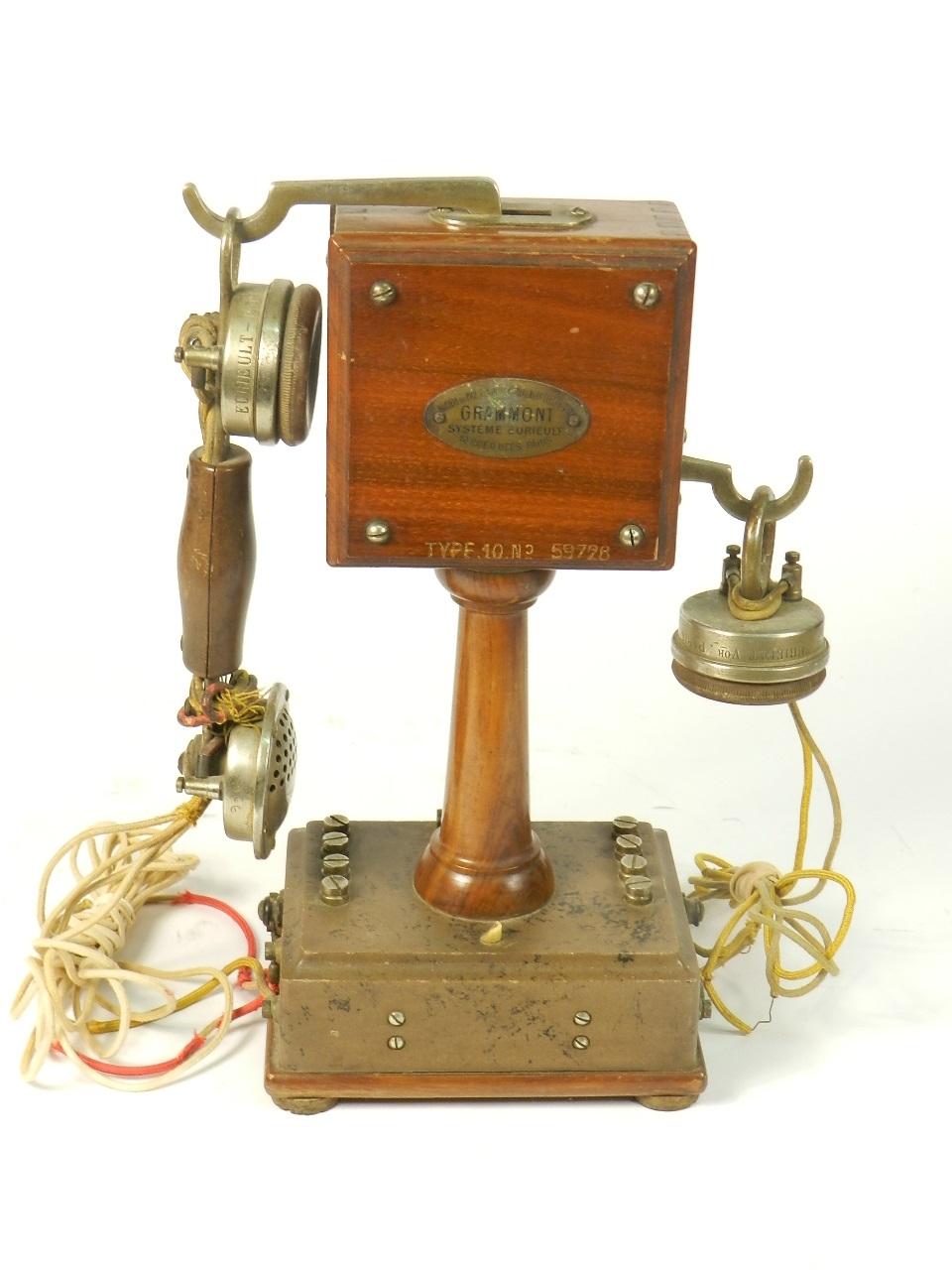 Imagen TELEFONO GRAMMONT TYPE Nº10 1915 38738