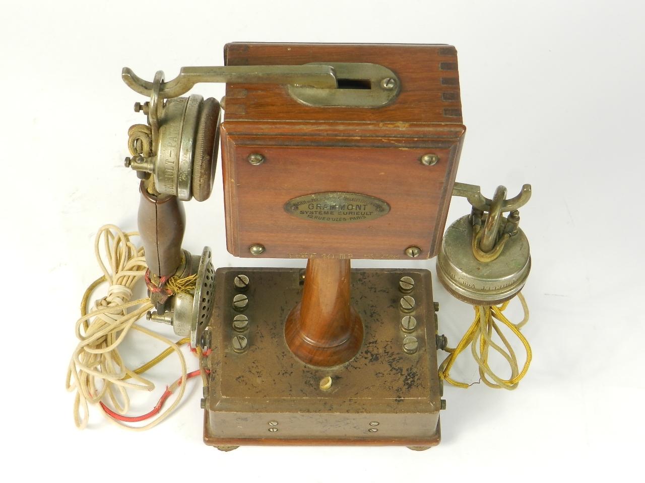 Imagen TELEFONO GRAMMONT TYPE Nº10 1915 38739