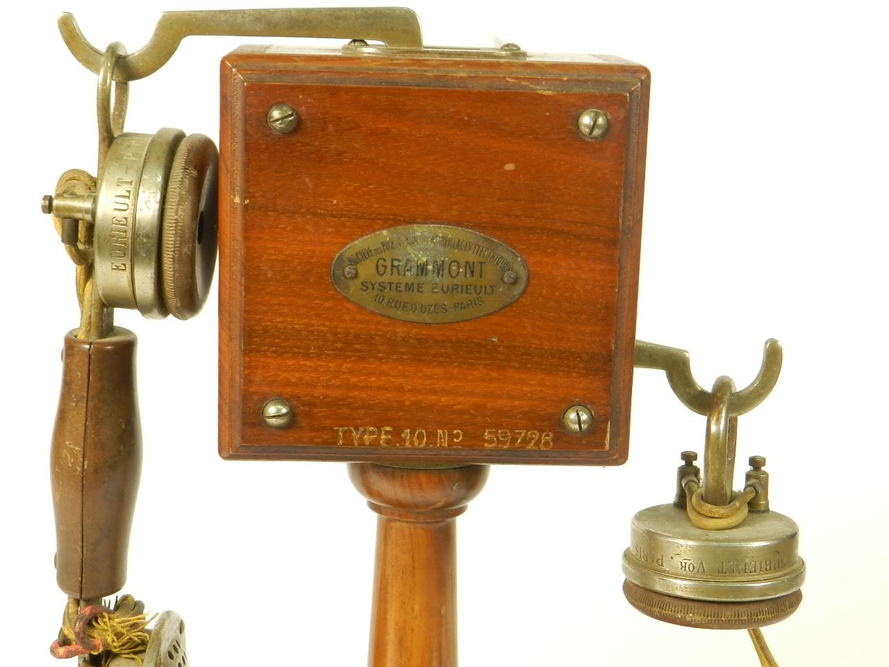 Imagen TELEFONO GRAMMONT TYPE Nº10 1915 38745