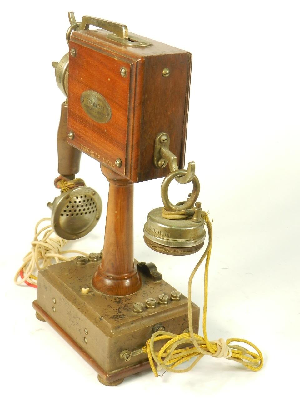 Imagen TELEFONO GRAMMONT TYPE Nº10 1915 38747