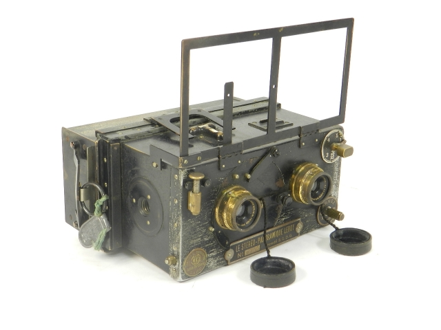 LE STEREO PANORAMIQUE LEROY AÑO 1905