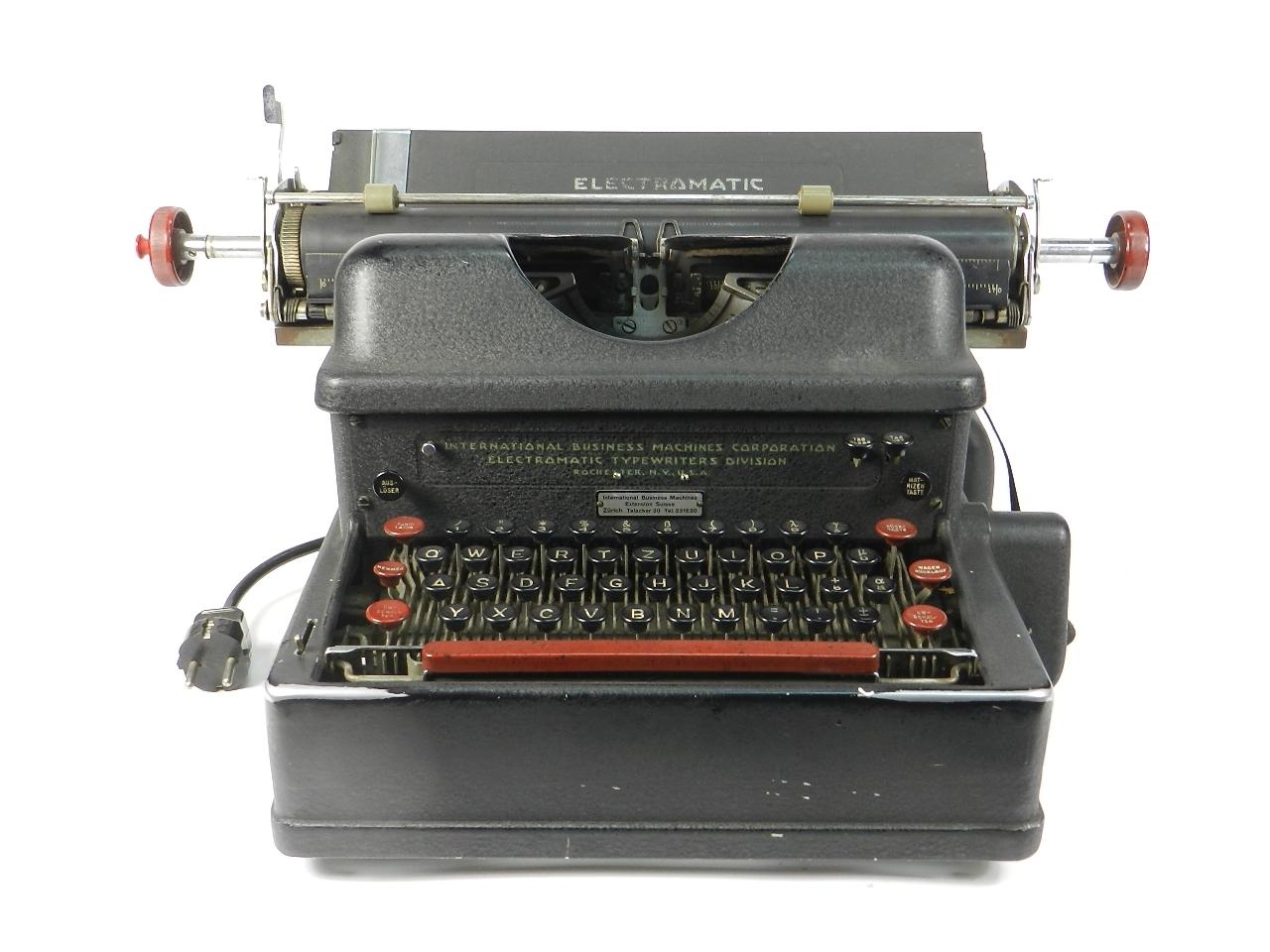 Imagen IBM ELECTROMATIC AÑO 1935 40288