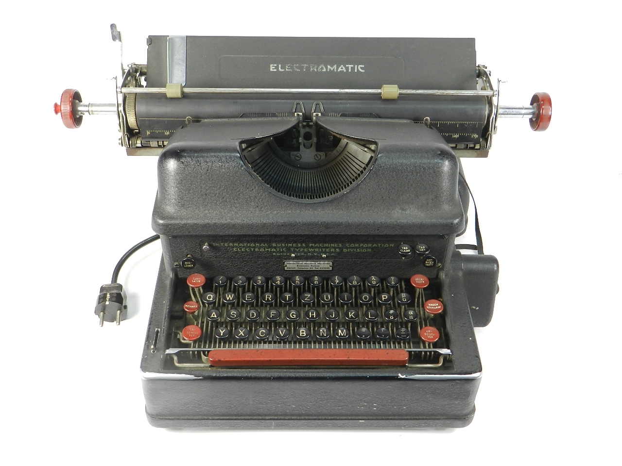 Imagen IBM ELECTROMATIC AÑO 1935 40289