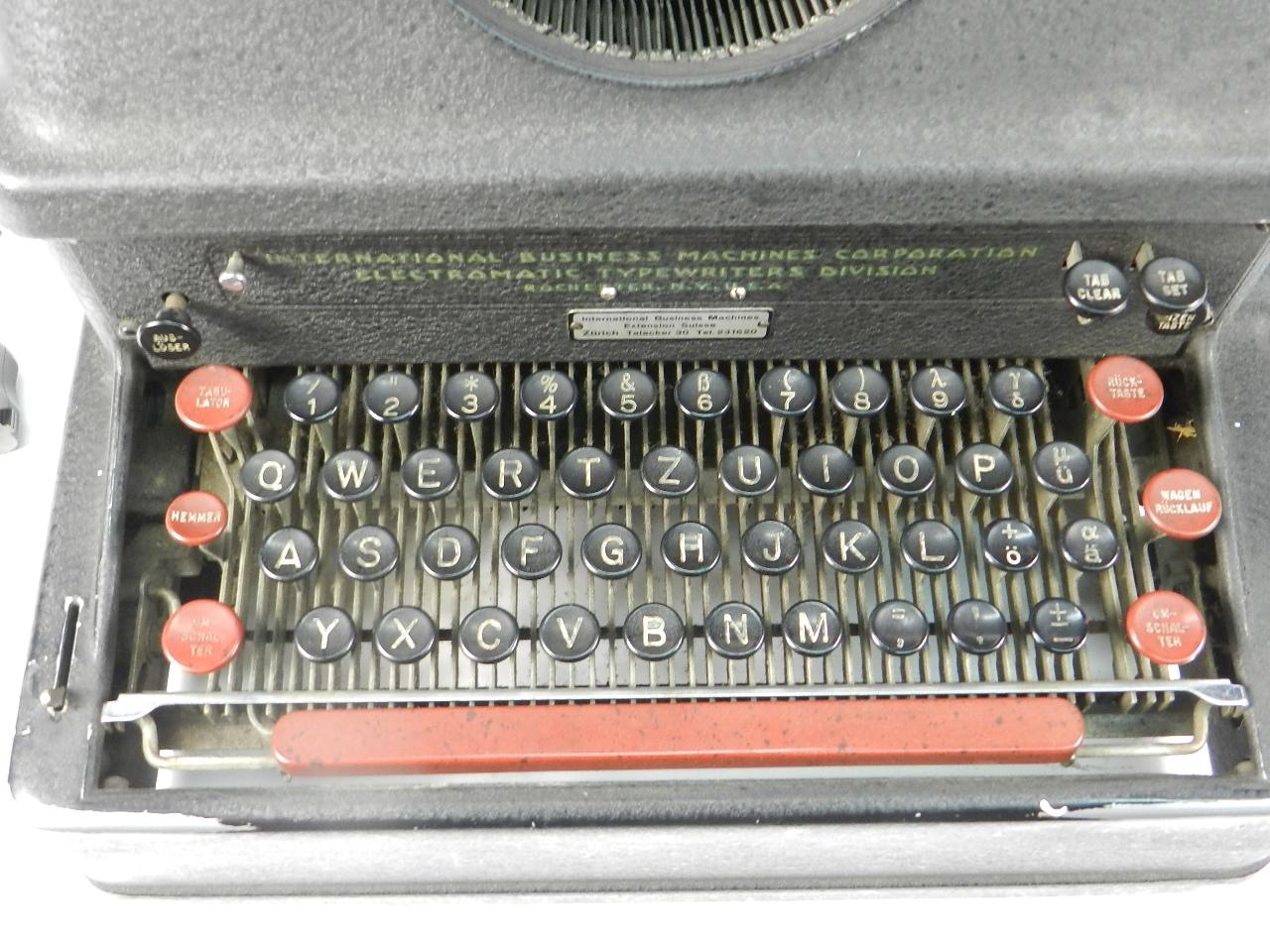 Imagen IBM ELECTROMATIC AÑO 1935 40290