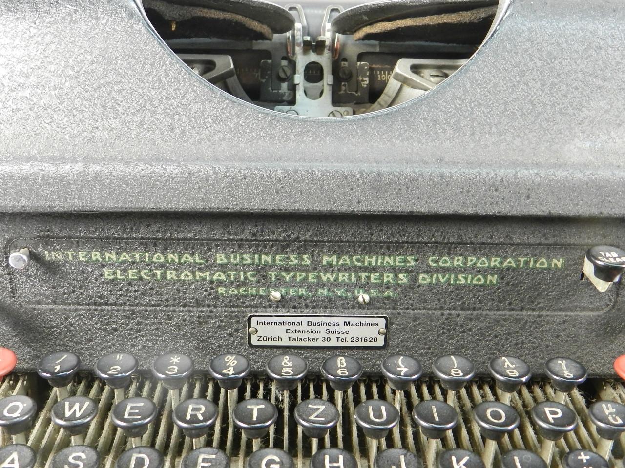 Imagen IBM ELECTROMATIC AÑO 1935 40291