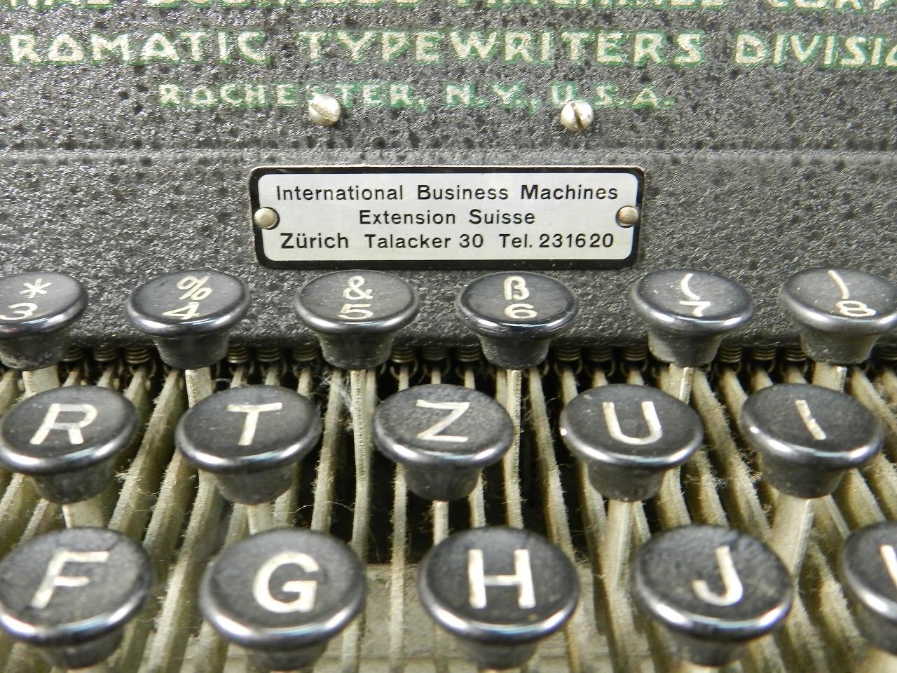 Imagen IBM ELECTROMATIC AÑO 1935 40292