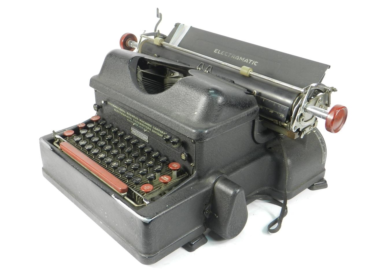 Imagen IBM ELECTROMATIC AÑO 1935 40294