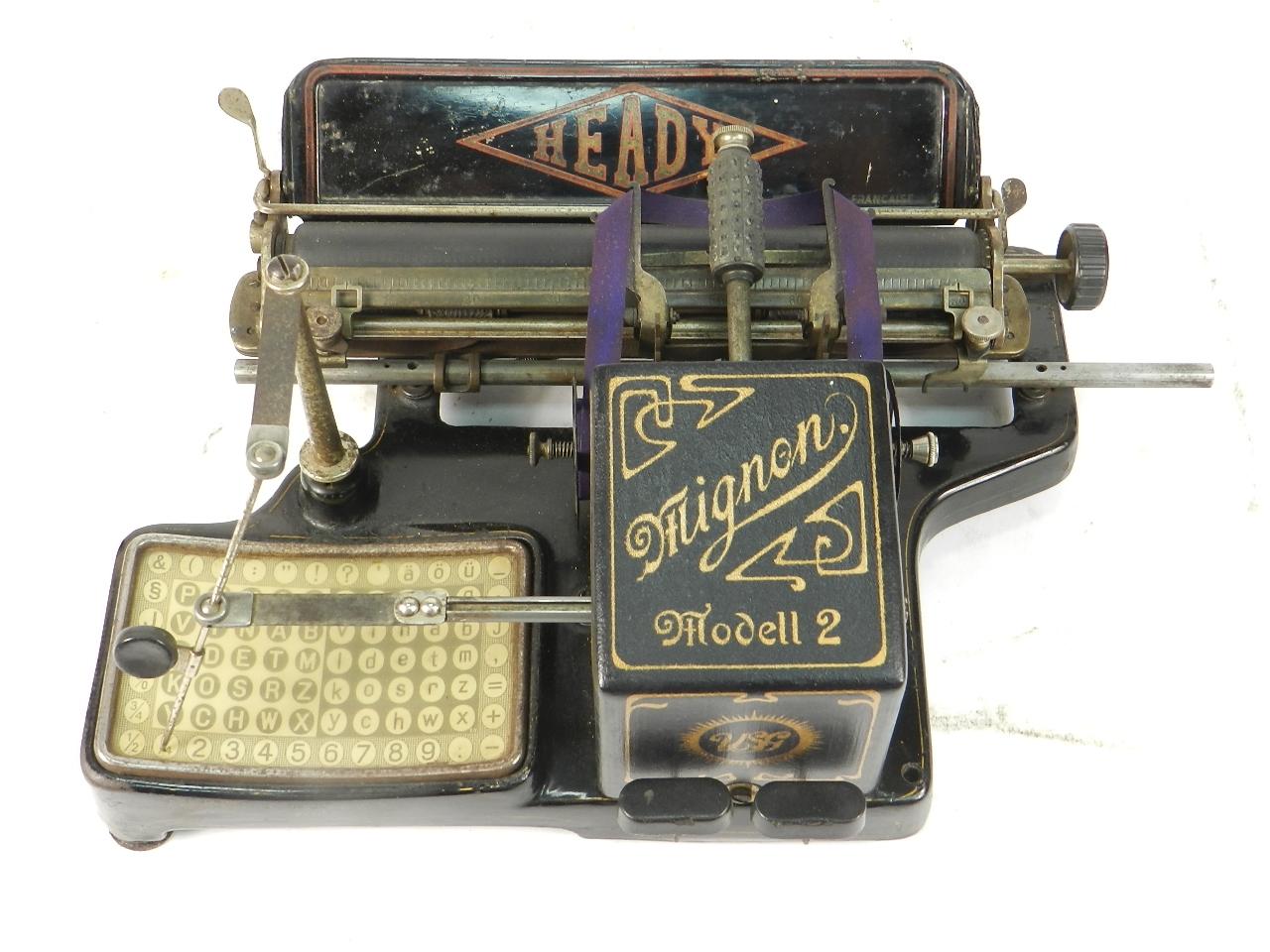 Imagen HEADY MIGNON AÑO 1905 40340
