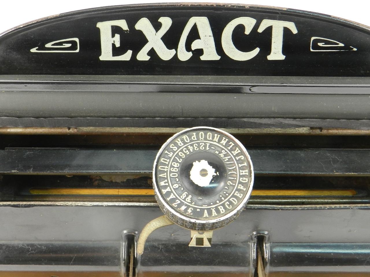 Imagen EXACT  AÑO 1931 40385