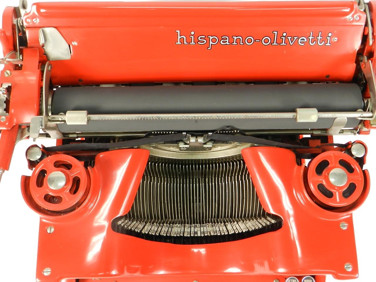 Imagen HISPANO OLIVETTI M40 COLOR ROJO 40451