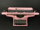 UNDERWOOD AÑO 1930 COLOR ROSA
