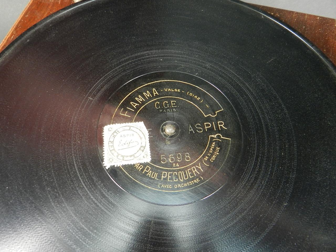 Imagen GRAMOFONO PATHÉ AÑO 1920 40655