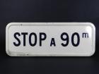 SEÑAL DE STOP  AÑO 1960