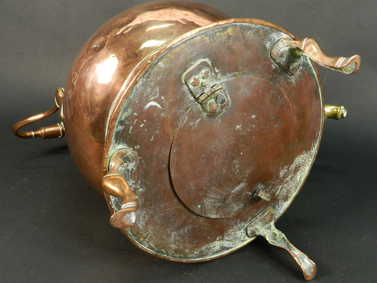 Imagen SAMOVAR DE COBRE AÑO 1900 40813