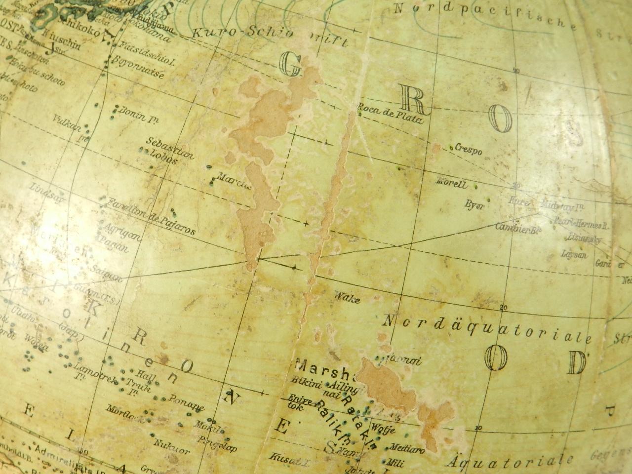 Imagen GLOBO TERRÁQUEO COLUMBUS AÑO 1910 41015