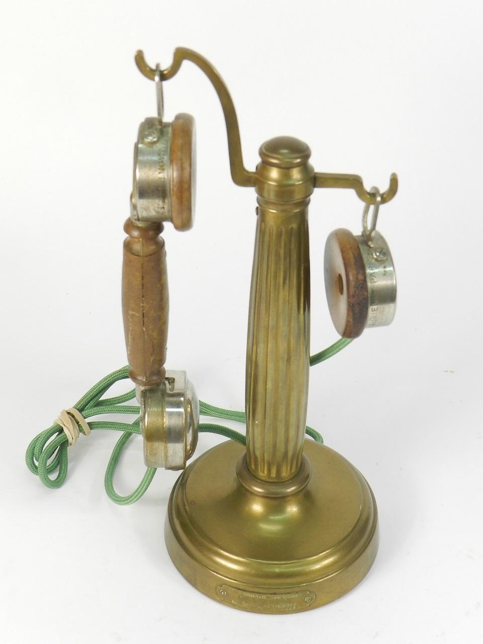 Imagen TELEFONO LATON GRAMMONT AÑO 1920 41236