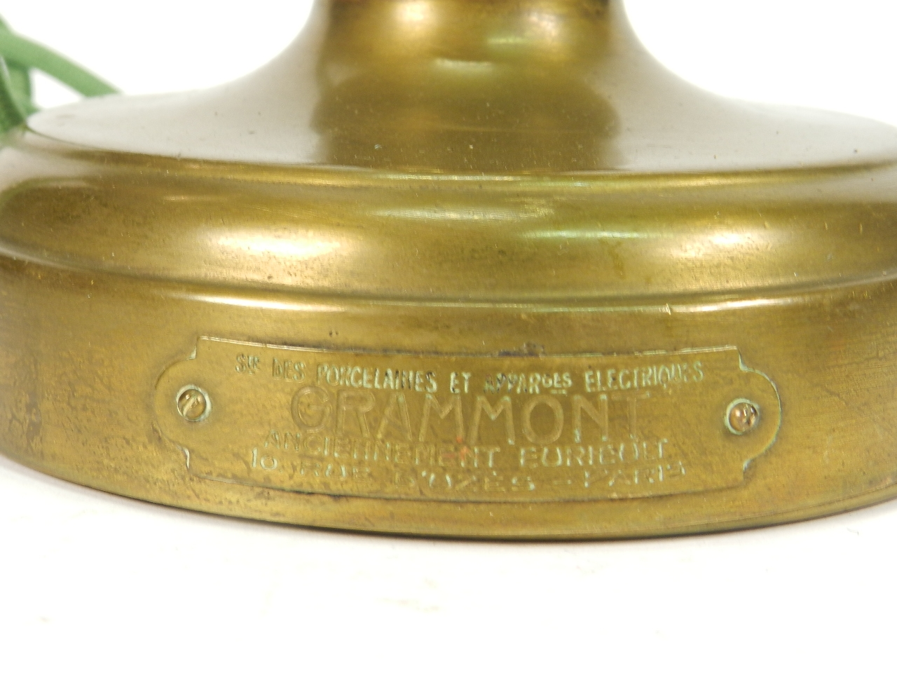 Imagen TELEFONO LATON GRAMMONT AÑO 1920 41237