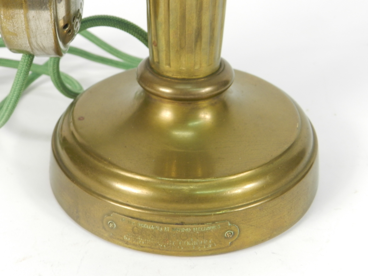 Imagen TELEFONO LATON GRAMMONT AÑO 1920 41238