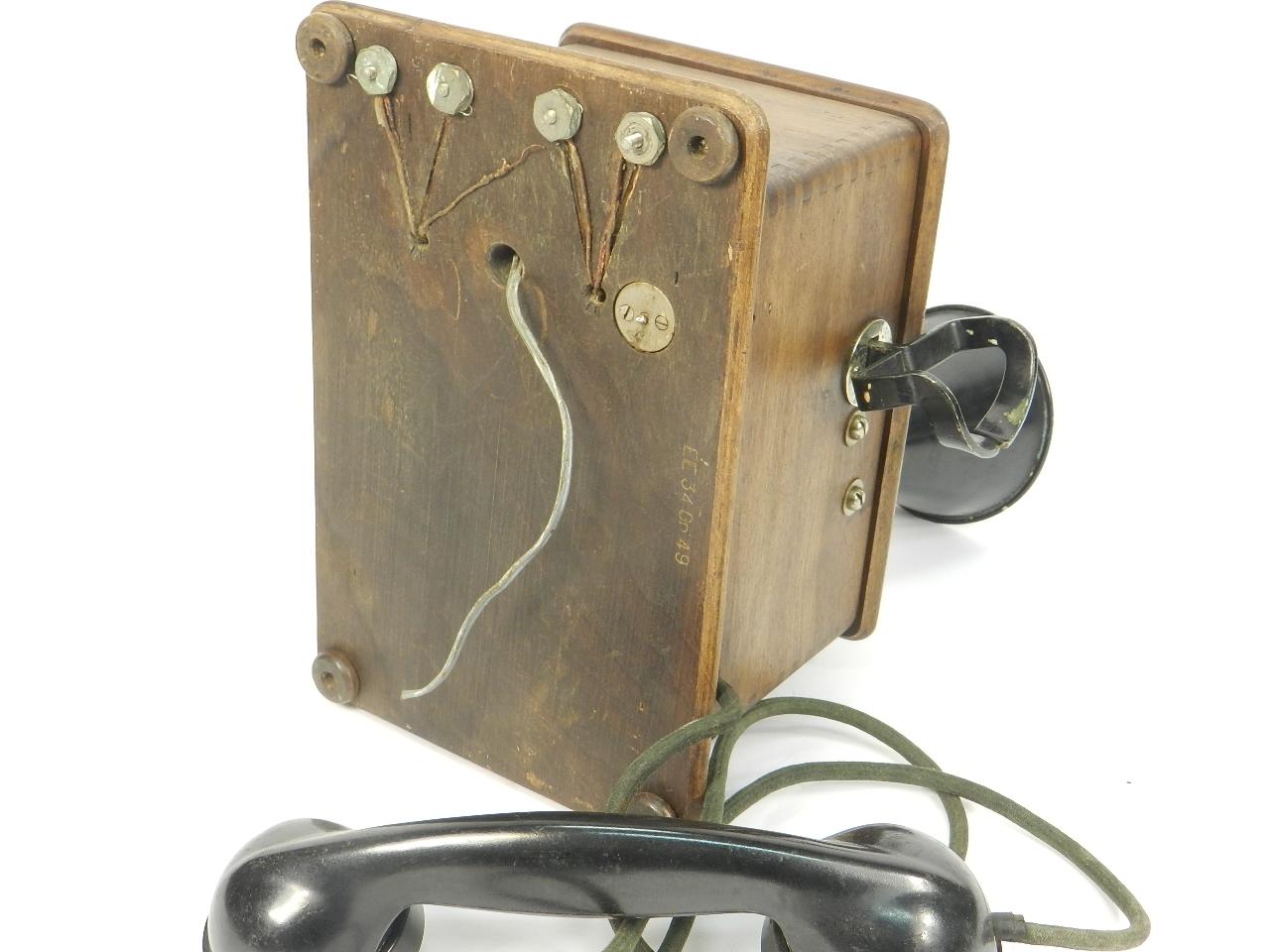 Imagen TELEFONO DE PARED AÑO 1930 41356