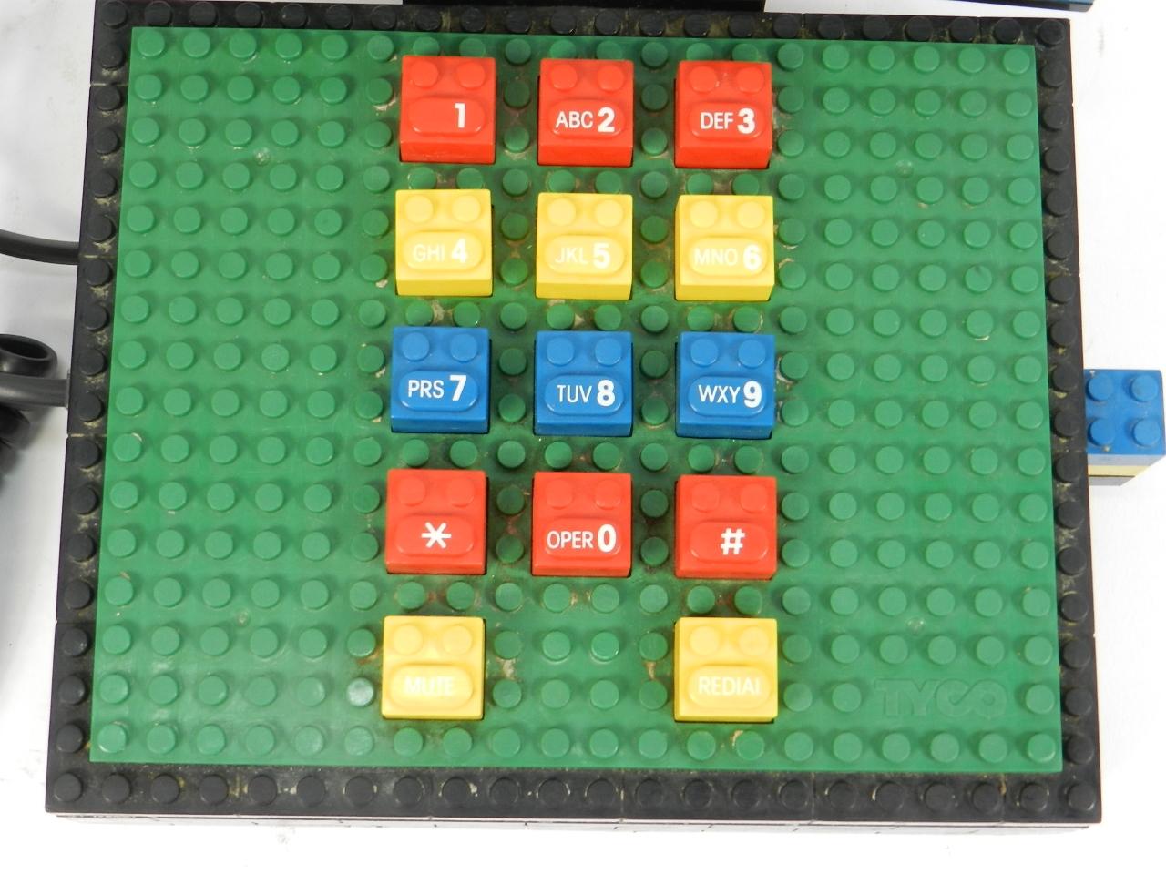 Imagen TELEFONO LEGO-TYCO AÑO 1980 41463