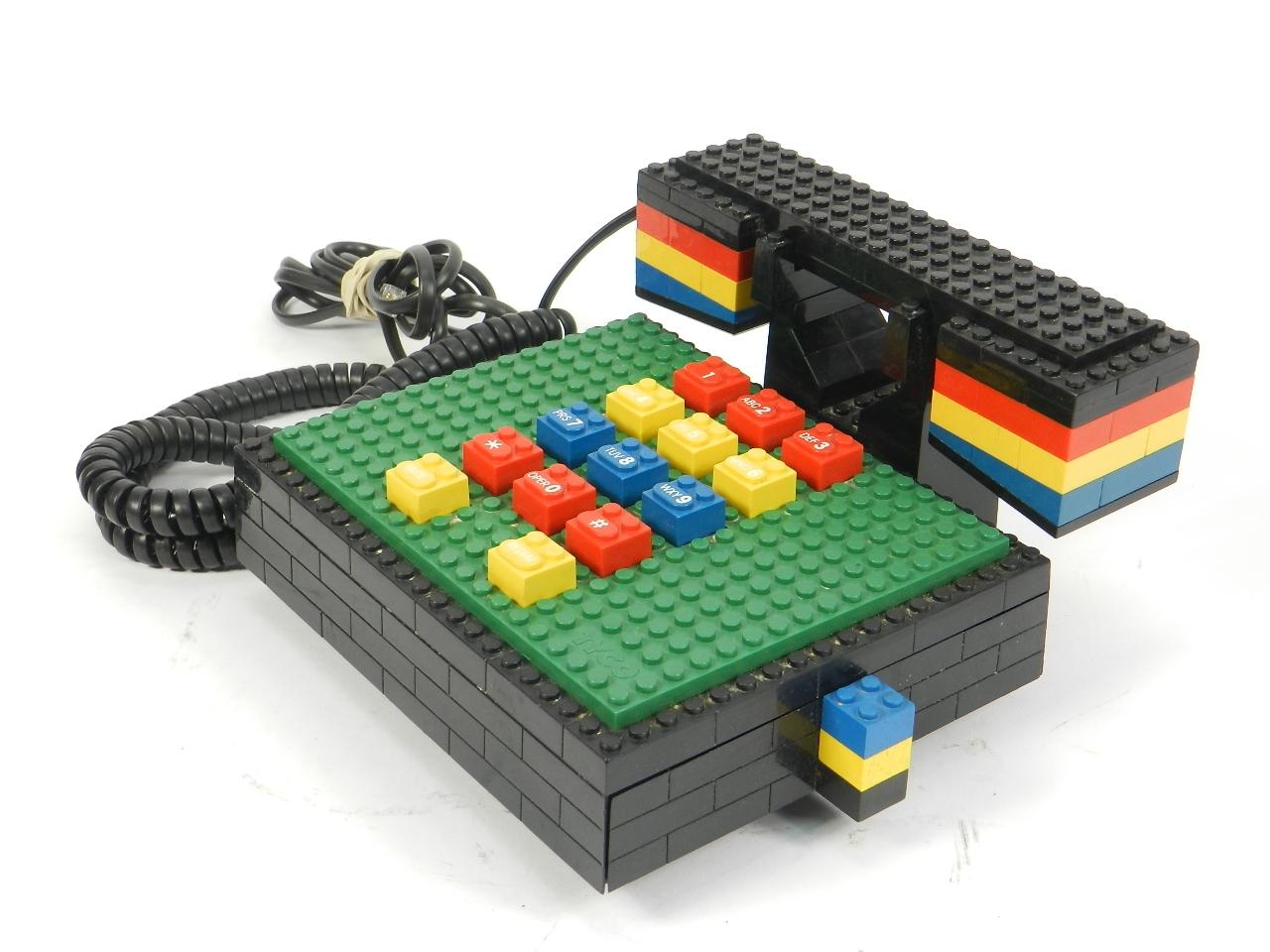 Imagen TELEFONO LEGO-TYCO AÑO 1980 41465