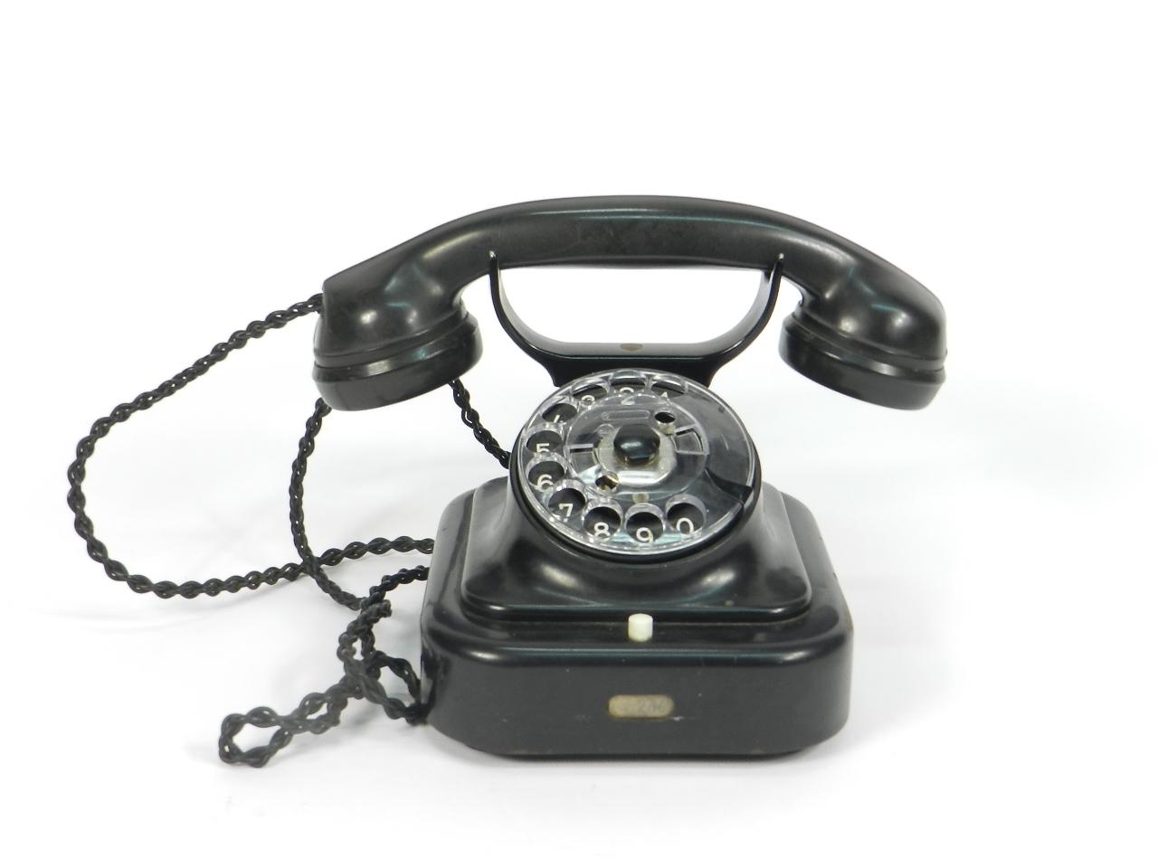 Imagen TELEFONO BAQUELITA AÑO 1950 41502