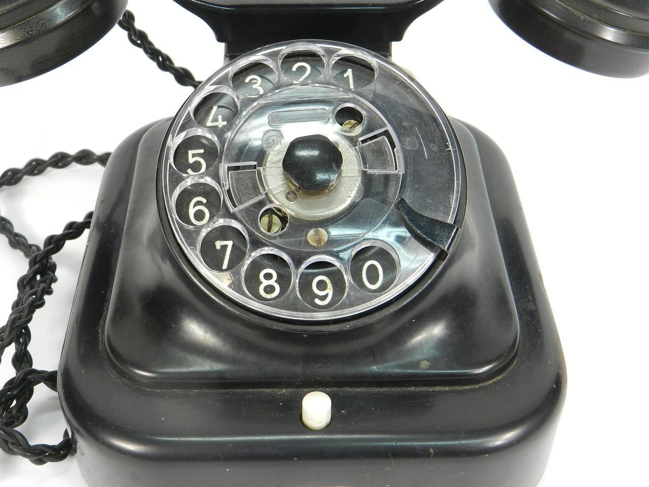 Imagen TELEFONO BAQUELITA AÑO 1950 41503